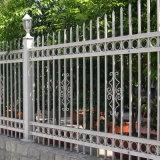 Cercado de aluminio de la yarda de la piscina de la decoración