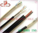 2c câble Lancable de réseau du pouvoir Utpcat5e/câble de transmission