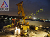 100t Knuckle Arm Marine Crane with Ahc System