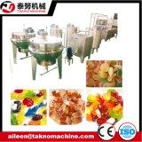 Gelee-gummiartige Süßigkeit, die Maschine herstellt