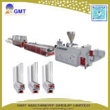 Ligne en Plastique Large Extrusion de Guichet de Profil de PVC WPC/machine de Porte