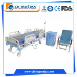 5機能中央ブレーキシステム(GT-BE2501)が付いている電気病院用ベッド