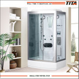 White Acrylic Back Shower Cabin Alps-a