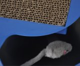 El nuevo diseño del gato corrugado sin sombra de agarre de plancha jugar al gato ratón de juguete Juguetes para gatos