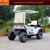 4 Pasajeros CE aprobado eléctrico Caza carro de golf Asientos con memoria inversión trasera