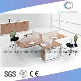 Sitio de trabajo de madera de la oficina de la cabina de los muebles modernos