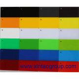Prezzo acrilico dello strato di colore libero trasparente del getto