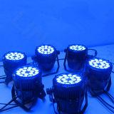 La IGUALDAD de DMX512 LED puede encender IP65 18*10W al aire libre RGBW