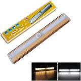 PIR Bewegungs-Fühler-Fach/Schrank/Garderoben-helle Lampe 10 LED batteriebetrieben
