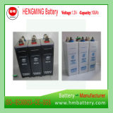 Hengming 1.2V100ah Kpm100 Pocket Typ Nickel-Cadmiumnachladbare Batterie der batterie Kpm Serien-(Ni-CD Batterie)