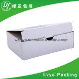 도매는 백색 Foldable 차잔 선물 포장 물결 모양 판지 상자를 재생한다