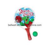 Комплект шарика затвора летучей мыши пляжа напольных спортов