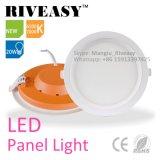 3W indicatore luminoso di comitato ultrasottile rotondo dell'acrilico LED per la lampada dell'interno