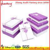 Duras de papel cajas de regalo de la joyería del pendiente
