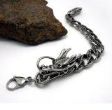 ステンレス鋼の人のドラゴンの縁のチェーンブレスレットボディ宝石類