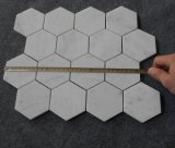 Fatto in nuove Carrara mattonelle di marmo bianche della stanza da bagno del mosaico della Cina