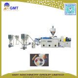 Plastique réutilisant l'usine concasseuse à deux étages de pelletisation de PP/PE