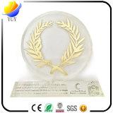 Сплав цинка металла с трофеем кристаллический стекла подарков сувенира
