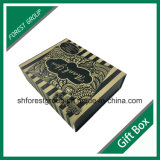 Коробка картона формы книги упаковывая бумажная с магнитами