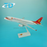 A320 Tianjin Airlines 1/100 37.6cm Art Artisanat traditionnel