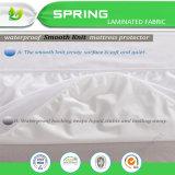 Protector impermeable respirable lavable del colchón de la cama matrimonial