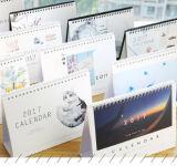 Calendario de escritorio de impresión, impresión OEM, Gits Calendario, calendario promocional