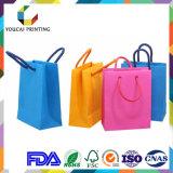 Мешок дешевого цветастого способа бумажный для выдвиженческих продуктов