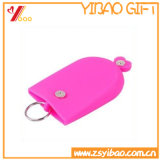 Vente en gros Customized Soft Silicone Key Chain