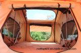 Barraca macia de acampamento do telhado para o carro