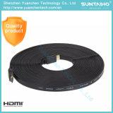 3D/4k/HDTV/PS31080P/2160pのために高速24k金1.4/2.0V HDMIケーブルを卸し売りする