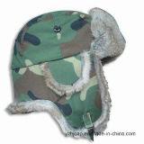 견면 벨벳 겨울 모자