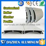 자동적인 전자 롤러 또는 회전 셔터 판금 문 알루미늄 알루미늄 밀어남 단면도