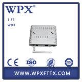 Sola fibra ONU de Gepon con el módem de WiFi