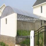 Vetroresina che copre strato ondulato per le serre, comitato ondulato del tetto