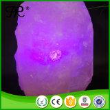 Красочные Crystal Гималайской соли лампа ночного света