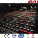 Cubierta de tela portátiles Bleacher interiores de madera de alta calidad de Presidente de la Conferencia Arena silla plegable