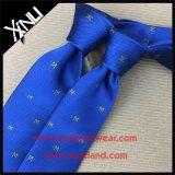 Os Mens Handmade vendem por atacado laços de seda tecidos costume