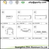 Het Aluminium Heatsink van het Bouwmateriaal voor Industrie