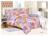 Textiel van het Beddegoed van het Blad van het Bed van Microfiber de Duidelijke Geverfte Goedkope Vastgestelde Vastgestelde naar huis