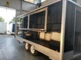 Yieson ha reso a colore nero il rimorchio mobile del camion