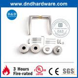 Edelstahl-Gefäß-Griff mit biegsamem Trägermaterial für Tür (DDPL008)