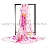 Eleganter Schal der Dame-Scarf Colorful Silk Chiffon