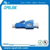 Atenuador fixo da fibra óptica de LC/PC