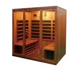 Baracca personale di sauna di legno solido della stanza di sauna di uso