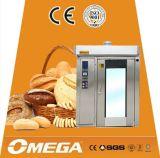 Horno rotatorio eléctrico de Commecial del acero inoxidable del gas diesel para la panadería