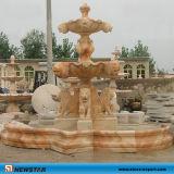 庭のための石造りのFountains Ball Fountain