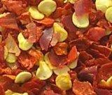 Les s/poivron rouges secs ont écrasé