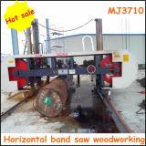 Horizontal Mj3710 CNC Log Cutting Band Saw Machine