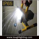 Indicatore luminoso di inondazione ricaricabile a pile di 20W LED con il basamento