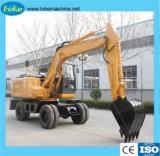 A engenharia da marca China Construction Equipment escavadeira hidráulica, Roda Coveiro